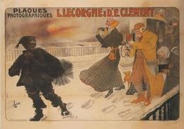 Product Postcard Plaques Photographiques Lecorgne & Clément 1905 (v) - Reproduction - Pubblicitari