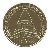 Monnaie De Paris , 2014 , Saintes , Abbaye Aux Dames , Cité Musicale , Revers 2 NG - Monnaie De Paris