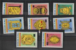 Mali 1984 Armoiries Service Série 31-38 8 Val ** MNH - Mali (1959-...)