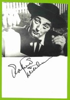 ROBERT MITCHUM  AUTOGRAPHE / AUTOGRAMM  Photo 12/17 Cm   *Actor* Hollywood * - Autographes