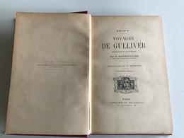 Jonathan Swift: Voyages De Gulliver - Prix Lycée Moulins (Allier)  1900 - Fantastique