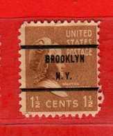 (Us2) USA °- 1938 - Série Courante, Présidents. Martha Washington. 1-1/2 C. Yvert 370.   USED.  Vedi Descrizione - Stati Uniti