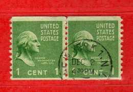 (Us2) USA °- 1938 - Série Courante, Présidents. G. Washington. 1 C. Yvert 369a.   USED.  Vedi Descrizione - Stati Uniti