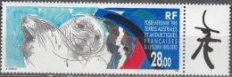 TAAF 1995 Yvert Poste Aérienne 136 Neuf ** Cote (2015) 14.20 Euro Croquis De Phoques G. Lesquin - Poste Aérienne