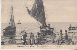 1909 FRANCAVILLA AL MARE (CHIETI) - RITORNO DALLA PESCA-- M0886 - Chieti
