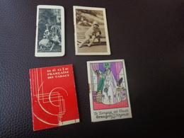 Lot De Petits Calendriers Publicite 1932-1934---tessier A Rochefort-regie Francaise Des Tabacs - Calendriers