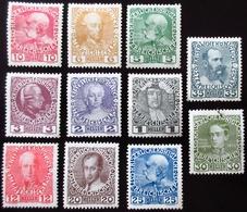 1908 Autriche  Jubilee . 11 Valeurs  Neufs Traces Charnières - Neufs