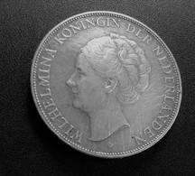 NEDERLAND (PAYS-BAS) 2 1/2 GULDEN - WILHELMINA - 1938 - ARGENT  N°449 - 2 1/2 Gulden