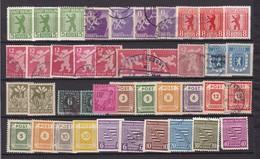 Alliierte Besetzung  - Sowjetische Zone - 1945/48  - Sammlung - 1. - Sowjetische Zone (SBZ)
