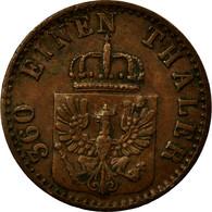 Monnaie, Allemagne, 1 Pfennig, 1868, Bayreuth, TTB+, Cuivre - Other