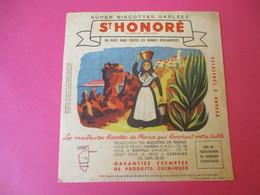 Buvard/Biscottes/St HONORE/Super Biscottes Sablées/Biscottes De France/Corse/ VAUREAL/ Donville/Vers 1940-60  BUV414 - Zwieback