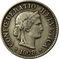 Monnaie, Suisse, 5 Rappen, 1909, Bern, TTB, Copper-nickel, KM:26 - Suisse
