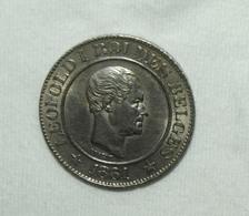 Belgien/Belgium Leopold I/Lion Rampant, 1861, 20 Centimes Funz/AU - 05. 20 Centimes
