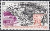 TAAF 1993 Yvert Poste Aérienne 125 Neuf ** Cote (2015) 1.10 Euro Les Radio Amateurs Antarctiques - Poste Aérienne