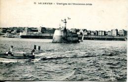 N°70185 -cpa Le Havre -vestiges De L'ancienne Jetée- - Le Havre