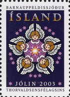 Iceland - 2003 - Christmas - Christmas Seals - Mint Charity Stamp - Ongebruikt