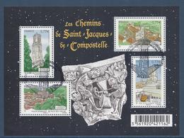 France Bloc - YT N° F4641 - YT N° 4641 à 4644 - Oblitéré, Dos Neuf Sans Charnière - 2012 - Blocs & Feuillets