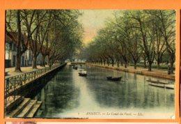MOL203, Annecy, Le Canal Du Vassé, 1, Circulée 1904 - Annecy
