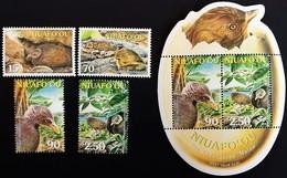 # Niuafo'ou 2002**Mi.395-98 + Bl.34 Birds ,MNH  [19;142] - Birds