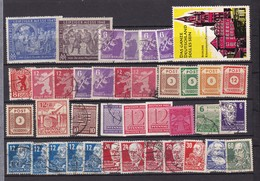Alliierte Besetzung  - Sowjetische Zone - 1945/49  - Sammlung - 4. - Sowjetische Zone (SBZ)