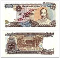VIETNAM - 100000 DONG - UNC SPECIMEN - RARE - NICE BANK NOTE - 1994 BILLET NEUF - Viêt-Nam