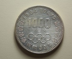 Japan 1000 Yen 1964 Silver - Japon