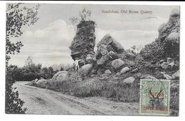 CPA PC British North Borneo Sandakan Old Stone Quarry 1909 Malaysia British Protectorate - Malaysia