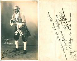 """OPERA Comique """"Surcouf"""" E. RAPEÉ Autograph Hand Signed Dedicacee - Photo 1918 - Fotos Dedicadas"""