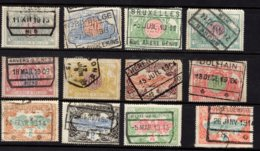 Belgium, 1902, Railway Stamps, Used - 1895-1913