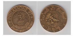 3 ECUS - PHILASAONE 93 -PORT-SUR-SAONE - Euros Des Villes