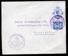 A5921) Curacao Netherlands Ship Letter 1921 To Maracaibo / Venezuela With Special Cancel - Niederländische Antillen, Curaçao, Aruba