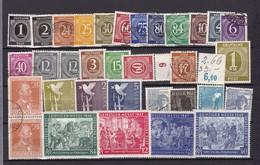 Alliierte Besetzung  - Gemeinschaftsausgaben - 1946/48  - Sammlung - 1. - Gemeinschaftsausgaben