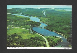 NEAR BLIND RIVER - ONTARIO - THE MOUTH OF THE MISSISSAUGAUGI - BY SUPERIOR SOUVENIR - Ontario