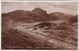 On The Melfort Road. Argyll - 'Amid The Quiet Hills' - (Scotland) - Argyllshire