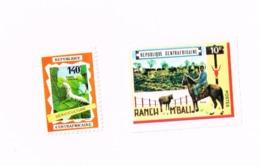 Ranch,sériculture (x).No Gum,Neuf Sans Gomme 129,PA 86 - Centrafricaine (République)