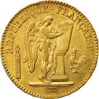 Monnaie, France, Génie, 20 Francs, 1849, Paris, TTB, Or, Gadoury:1032, KM:757 - France