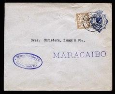 A5923) Curacao Netherlands Cover 02.06.22 To Maracaibo / Venezuela - Niederländische Antillen, Curaçao, Aruba