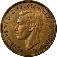 Monnaie, Grande-Bretagne, George VI, Penny, 1938, SUP, Bronze, KM:845 - 1902-1971 : Monnaies Post-Victoriennes