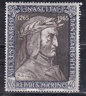San Marino, 1963 - 40 Lire Dante Alighieri - Nr.700 MNH** - Ungebraucht