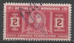 Honduras 1935. Scott #329 (U) President Carias * - Honduras