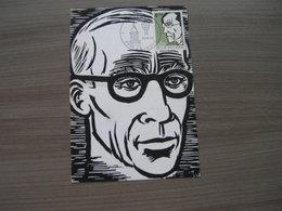 "BELG.1972 1641 MK-MCard (Ninove) :  ""Frans Masereel (1889-1972) "" - 1971-80"