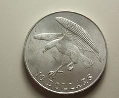 Singapore 10 Dollars 1973 Silver - Singapour