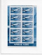 Poste Aérienne Feuillet F 69a Sous Blister - 1960-.... Neufs