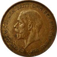 Monnaie, Grande-Bretagne, George V, Penny, 1935, TTB+, Bronze, KM:838 - 1902-1971 : Monnaies Post-Victoriennes