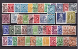 Alliierte Besetzung  - Gemeinschaftsausgaben - 1946/48  - Sammlung - 4. - Gemeinschaftsausgaben