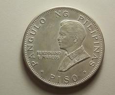 Philippines 1 Piso 1970 Silver - Philippines