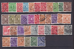 Alliierte Besetzung  - Gemeinschaftsausgaben - 1946/48  - Sammlung - 5. - Gemeinschaftsausgaben