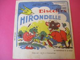 Buvard/Biscottes/HIRONDELLE/La Biscotte NaturelleLLa Grenouille Et Le Boeuf/ SPRAE/CORBEIL-ESSONNES/Vers 1940-60  BUV423 - Zwieback