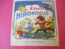 Buvard/Biscottes/HIRONDELLE/La Biscotte Naturelle/Le Loup Et L'Agneau / SPRAE/CORBEIL-ESSONNES/Vers 1940-60  BUV424 - Zwieback