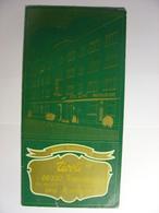 PROSPECTUS ANNEES 1950 - HOTEL RESTAURANT TIVOLI HUNINGUE - PUBLICITE AVEC PHOTO BAR SALON CHAMBRE Etc ... - Dépliants Touristiques
